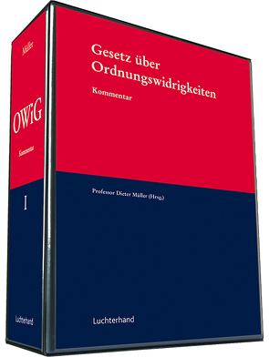 Gesetz über Ordnungswidrigkeiten (OWIG) von Mueller