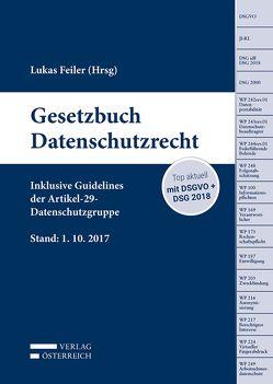 Gesetzbuch Datenschutzrecht von Lukas,  Feiler
