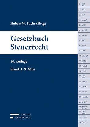 Gesetzbuch Steuerrecht von Fuchs,  Hubert W.