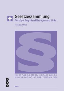 Gesetzessammlung 2019/2020 (Ausgabe A4) von Gurzeler,  Beat, Maurer,  Hanspeter