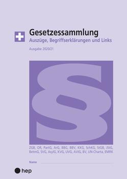 Gesetzessammlung 2020/2021 (Ausgabe A4) von Gurzeler,  Beat, Maurer,  Hanspeter