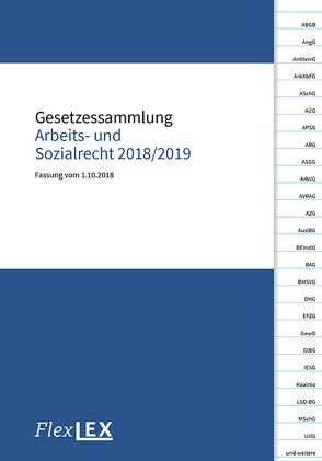 Gesetzessammlung Arbeits- und Sozialrecht 2018/2019