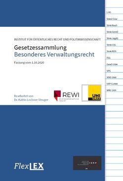 Gesetzessammlung Besonderes Verwaltungsrecht von Institut für Öffentliches Recht und Politikwissenschaften