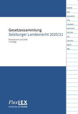 Gesetzessammlung Salzburger Landesrecht 2020/21