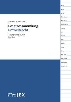 Gesetzessammlung Umweltrecht von Schnedl,  Gerhard