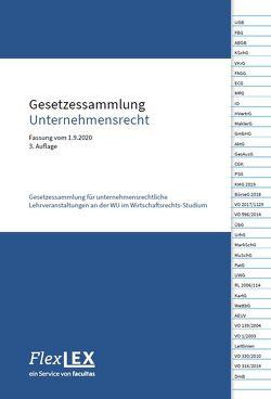 Gesetzessammlung Unternehmensrecht von Grünwald,  Alfons