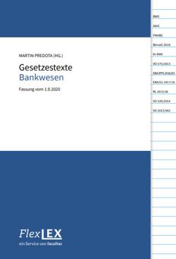 Gesetzestexte zu Risikomanagement im Bankwesen