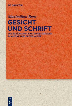 Gesicht und Schrift von Benz,  Maximilian