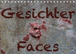 Gesichter –Faces (Tischkalender 2018 DIN A5 quer) von Reichenauer,  Maria