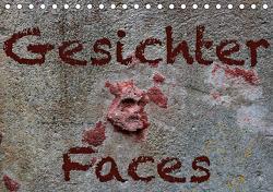 Gesichter –Faces (Tischkalender 2021 DIN A5 quer) von Reichenauer,  Maria