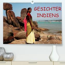 Gesichter Indiens (Premium, hochwertiger DIN A2 Wandkalender 2021, Kunstdruck in Hochglanz) von Rauchenwald,  Martin