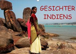 Gesichter Indiens (Wandkalender 2021 DIN A2 quer) von Rauchenwald,  Martin