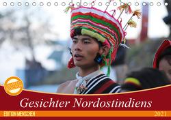 Gesichter Nordostindiens (Tischkalender 2021 DIN A5 quer) von Sprenger,  Bernd