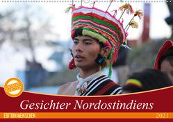 Gesichter Nordostindiens (Wandkalender 2021 DIN A2 quer) von Sprenger,  Bernd