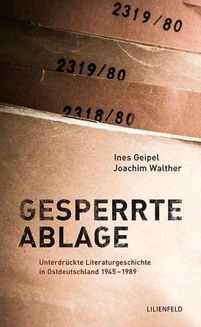 Gesperrte Ablage von Geipel,  Ines, Walther,  Joachim