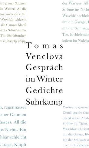 Gespräch im Winter von Grünbein,  Durs, Sinnig,  Claudia, Venclova,  Tomas