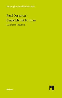 Gespräch mit Burman von Arndt,  Hans W, Descartes,  Rene