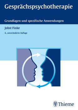 Gesprächspsychotherapie von Finke,  Jobst