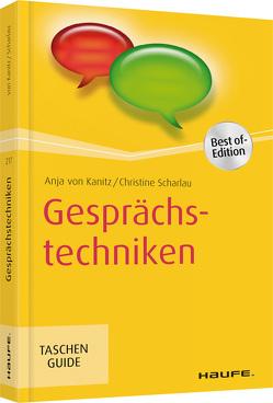 Gesprächstechniken von Scharlau,  Christine, von Kanitz,  Anja