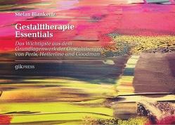 Gestalttherapie Essentials von Blankertz,  Stefan, Doubrawa,  Erhard