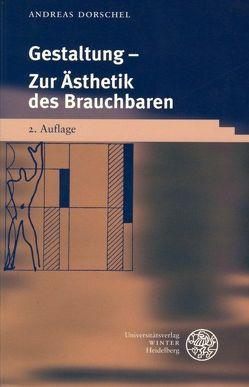 Gestaltung von Dorschel,  Andreas
