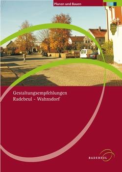 Gestaltungsempfehlungen Radebeul-Wahnsdorf