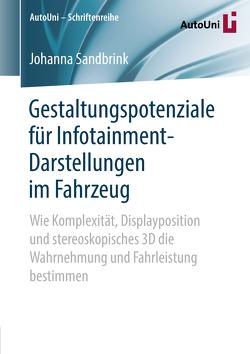 Gestaltungspotenziale für Infotainment-Darstellungen im Fahrzeug von Sandbrink,  Johanna