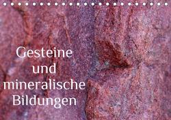 Gesteine und mineralische Bildungen (Tischkalender 2021 DIN A5 quer) von Hultsch,  Heike