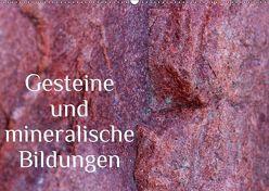 Gesteine und mineralische Bildungen (Wandkalender 2019 DIN A2 quer) von Hultsch,  Heike