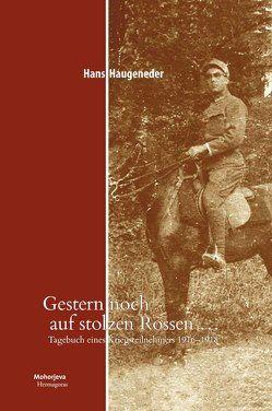 Gestern noch auf stolzen Rossen… von Haugeneder,  Hans