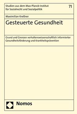 Gesteuerte Gesundheit von Kreßner,  Maximilian