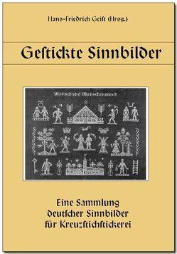 Gestickte Sinnbilder von Geist,  Hans F, Wöhrlin,  Christel