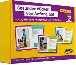 Gesunder Rücken von Anfang an! – Anfänger von Kokott,  Sabine, König,  Dietmar Pierre, Thomas,  Sonja