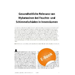 Gesundheitliche Relevanz von Mykotoxinen bei Feuchte- und Schimmelschäden in Innenräumen – E-Paper (PDF) von Heinzow,  Birger, Hurraß,  Julia, Wiesmüller,  Gerhard A