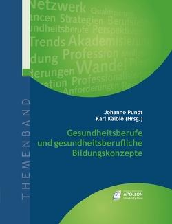 Gesundheitsberufe und gesundheitsberufliche Bildungskonzepte von Hurrelmann,  Klaus, Kälble,  Karl, Pundt,  Prof. Dr. Johanne