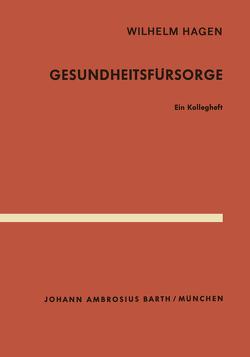 Gesundheitsfürsorge von Hagen,  W.