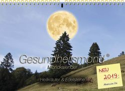 Gesundheitsmond®-Mondkalender 2019 von Römer ,  Michael