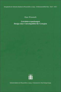 Getränkeverpackungen Design einer Umweltpolitik für Georgien von Wiesmeth,  Hans