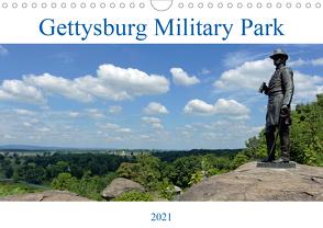 Gettysburg Military Park (Wandkalender 2021 DIN A4 quer) von Enders,  Borg