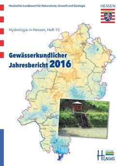 Gewässerkundlicher Jahresbericht 2016 von Löns-Hanna,  Cornelia