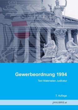 Gewerbeordnung 1994 von proLIBRIS VerlagsgesmbH