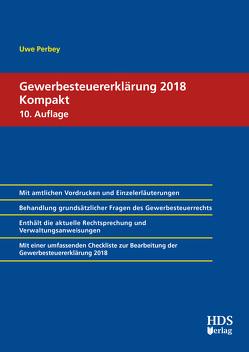 Gewerbesteuererklärung 2018 Kompakt von Perbey,  Uwe