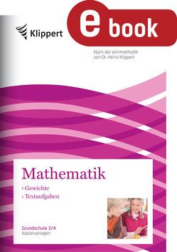 Gewichte – Textaufgaben von Adamaszek,  Ernst-A., Mueller,  Frank