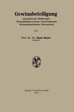 Gewinnbeteiligung von Bayer,  Hans