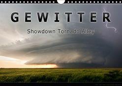 Gewitter – Showdown Tornado Alley (Wandkalender 2018 DIN A4 quer) von Thieme,  Uwe