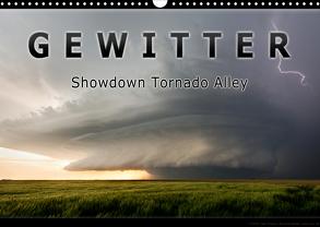 Gewitter – Showdown Tornado Alley (Wandkalender 2020 DIN A3 quer) von Thieme,  Uwe