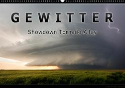 Gewitter – Showdown Tornado Alley (Wandkalender 2021 DIN A2 quer) von Thieme,  Uwe