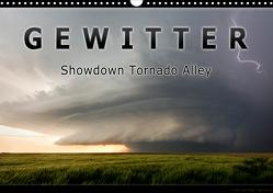 Gewitter – Showdown Tornado Alley (Wandkalender 2021 DIN A3 quer) von Thieme,  Uwe