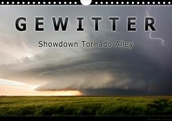 Gewitter – Showdown Tornado Alley (Wandkalender 2021 DIN A4 quer) von Thieme,  Uwe