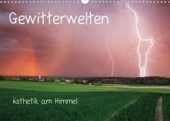 Gewitterwelten (Wandkalender 2020 DIN A3 quer) von Eggert,  Daniel